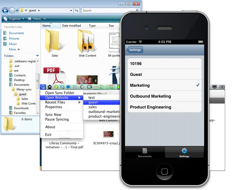 Liferay Portal 6.1 EE añade soporte para dispositivos basados en iOS y próximamente espera hacer lo propio con Android