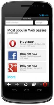 opera web pass modalidades