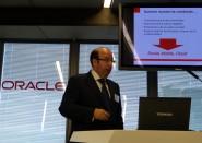 Andrés García-Arroyo, director de ventas de Oracle Iberia, nos atendió durante el evento Fusion Middleware