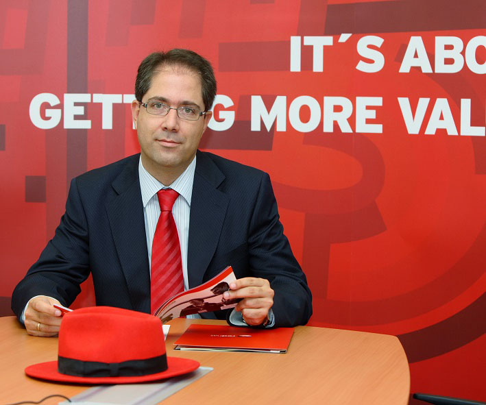 Santiago Madruga es Country Manager de Red Hat en España y Portugal