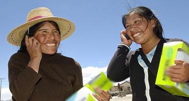 Los habitantes de Talea de Castro estaban incomunicados hasta la llegada de la  Red Comunitaria de Talea