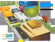 Plano delos edificios que albergan el Campus Party de Medellín