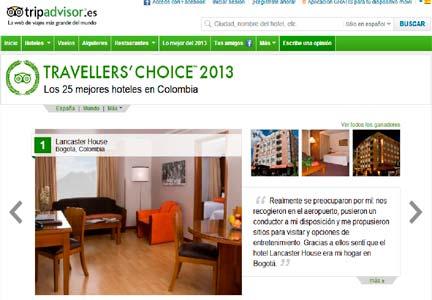 Colombia es el sétpimo país de toda América con más tráfico en sus hoteles.