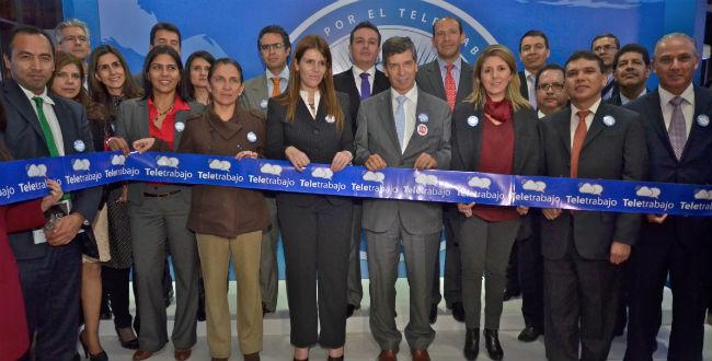 Firma del Pacto de Teletrabajo en Bogotá