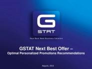 GSTAT es una empresa israelí que ofrece servicios de inteligencia de negocio y de análisis de grandes volúmenes de datos.