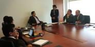 Diego Molano se reunió con los portavoces de la Escuela Superio de Guerra para tratar cómo crear armas de ciberguerra y ciberdefensa.