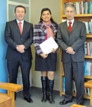 Arturo C, Ana Lidia F., y Marcelo M. Sisoft-ITAM