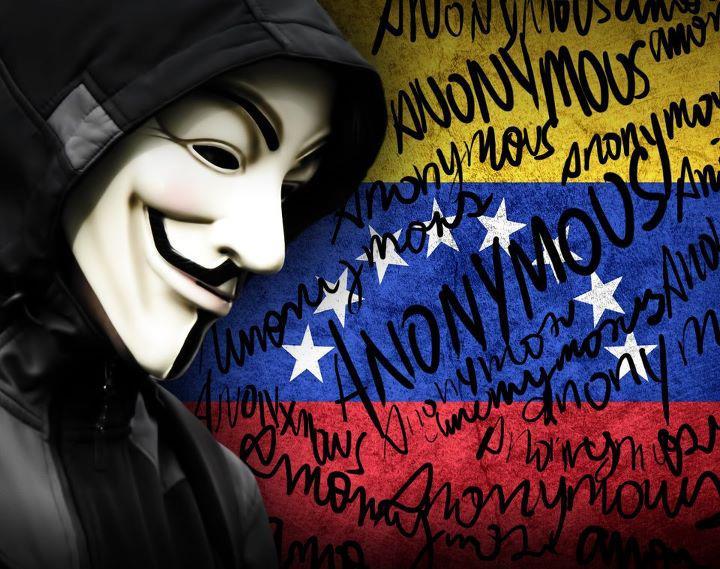 Anonymous protestas Venezuela