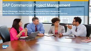 SAP Commercial project management