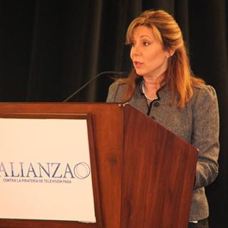 Marta Ochoa, del programa Alianza propuesto por DirecTV