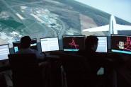 Simulador de torre de control de Indra