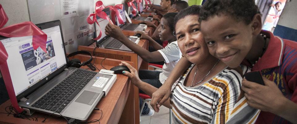Una de las iniciativas por el día de la mujer será la de impulsar el uso de la tecnología entre las mujeres del departamento del Chocó, en el Pacífico colombiano,