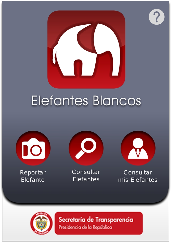 La aplicaicón elefante blanco pretende escuchar a los ciudadanos en sus protestas sobre las obras sin finalizar.