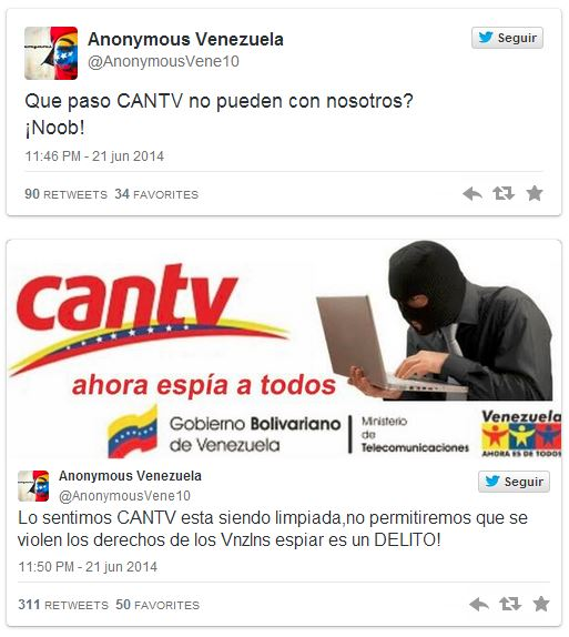 cantv anonymous