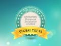 Top 25 de Incubadoras Universitarias