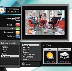 El software libre de Ginga.ar puede ofrecer al usuario más información complementaria a los contenidos que está viendo.