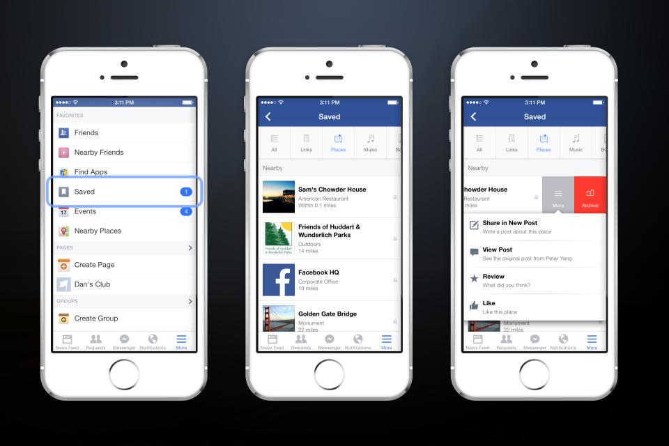facebook guardar save