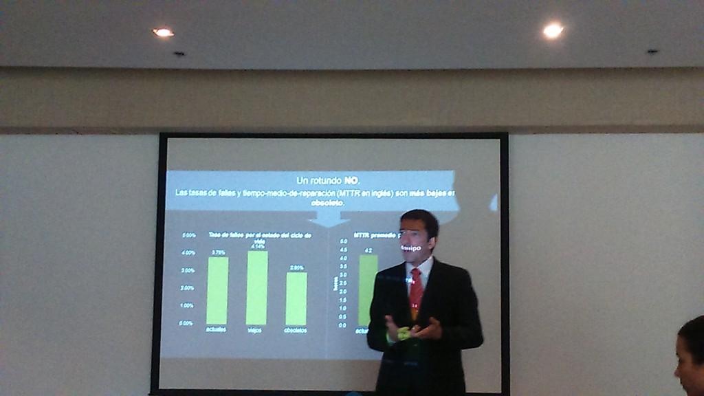 Juan Carlos Garrote, Senior Sales Manager en Dimension Data