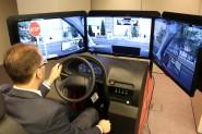 Simulador de conducción indra