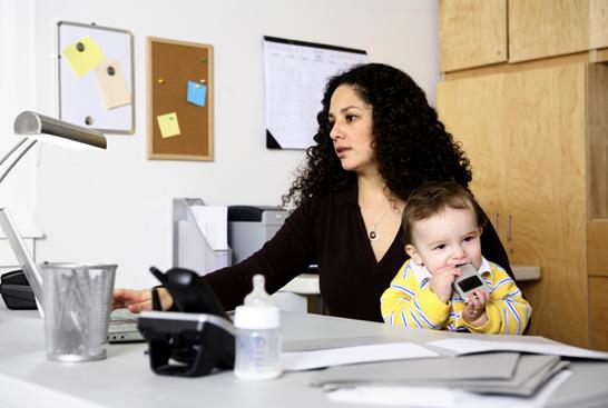 El teletrabajo ayuda a compaginar la vida laboral y personal.