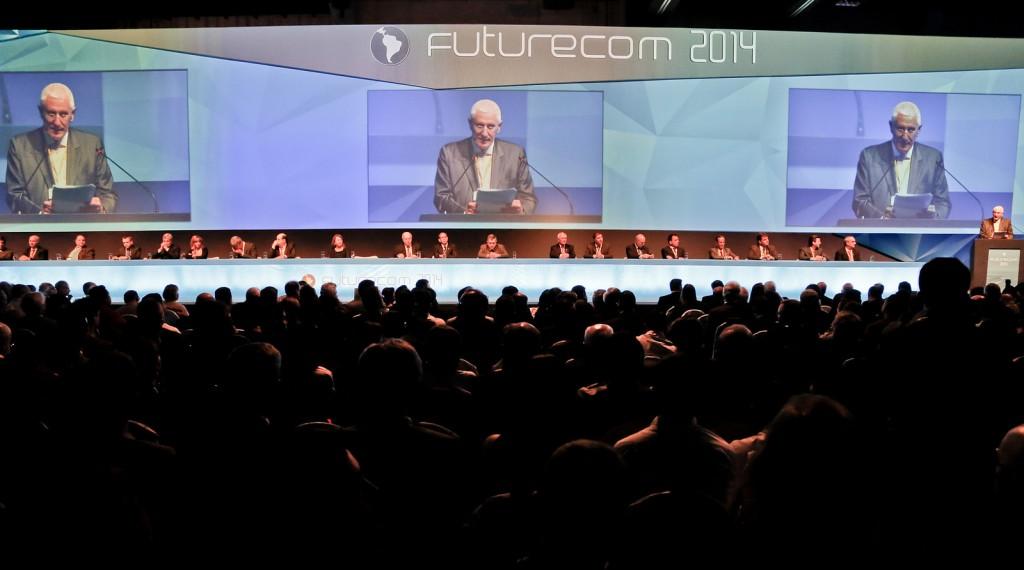 Inauguración del Futurecom 2014. Foto de B!T Magazine.
