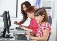 Niños usuarios ordenador