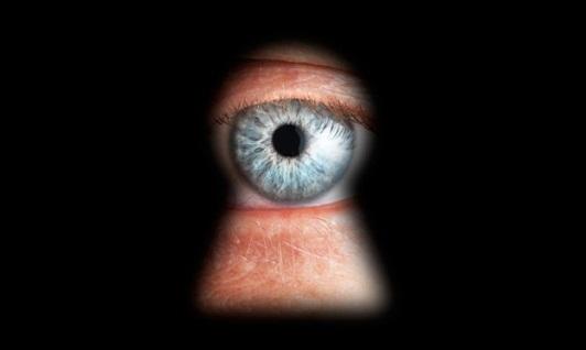 espía vigila