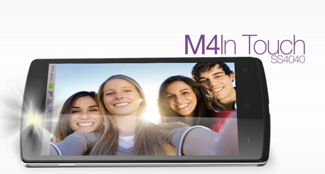 El último lanzamiento de la empresa mexicana ha sido el M4In Touch SS4040