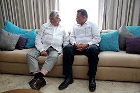 Reunión del presidente de Uruguay y el gobernador de Yucatán donde acordaron que compartirán información en cuanto a tecnología.