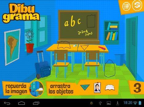 Dibugrama, una de las aplicaciones disponibles.