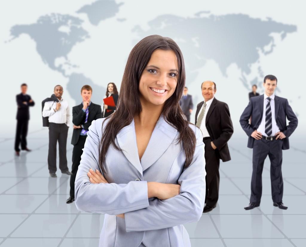 Persona-emprendedora mujer directiva