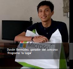 microsoft yo puedo programar joven colombiano