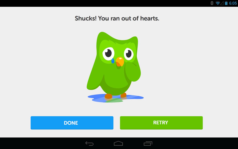 Duolingo está disponible apra las principales plataformas de dispositivos móviles