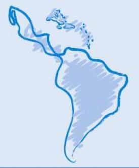 america latina caribe mapa