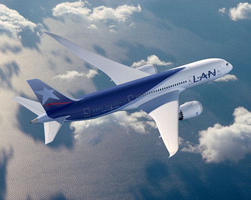 lan avión viajar volar