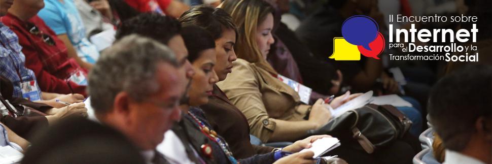 iI Encuentro sobre Gobernanza de Internet para el Desarrollo y la Transformación Social del Estado