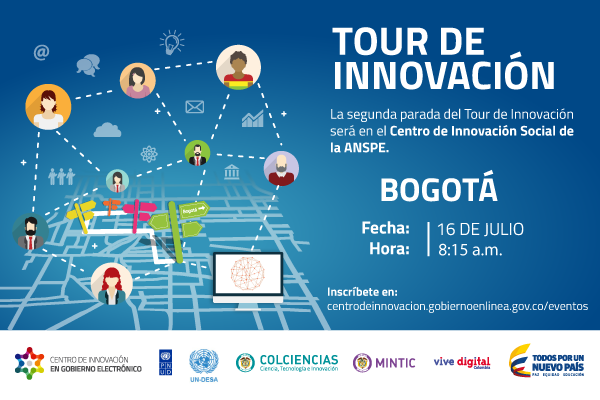 El Tour de Innovación que esta semana llega a Cali, ya se había celebrado en Bogotá.