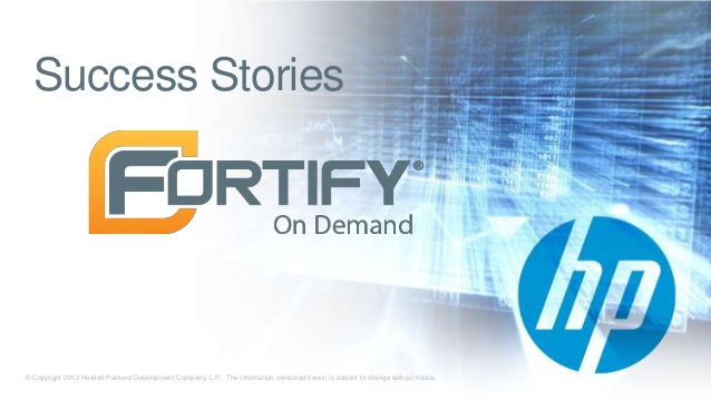 fortify-on-demand