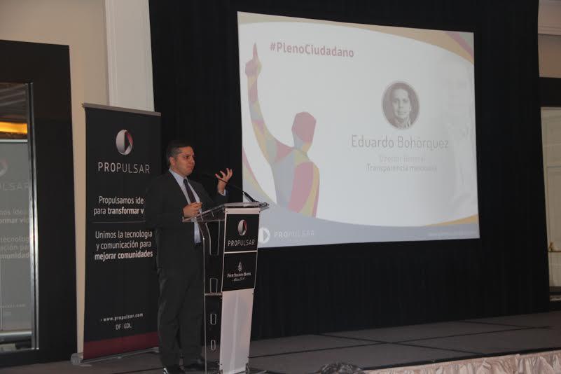 Eduardo Bohórquez Director de Transparencia Mexicana