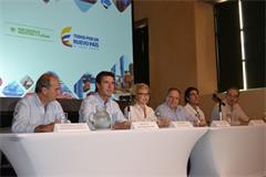 Reunión en Cartagena de India.
