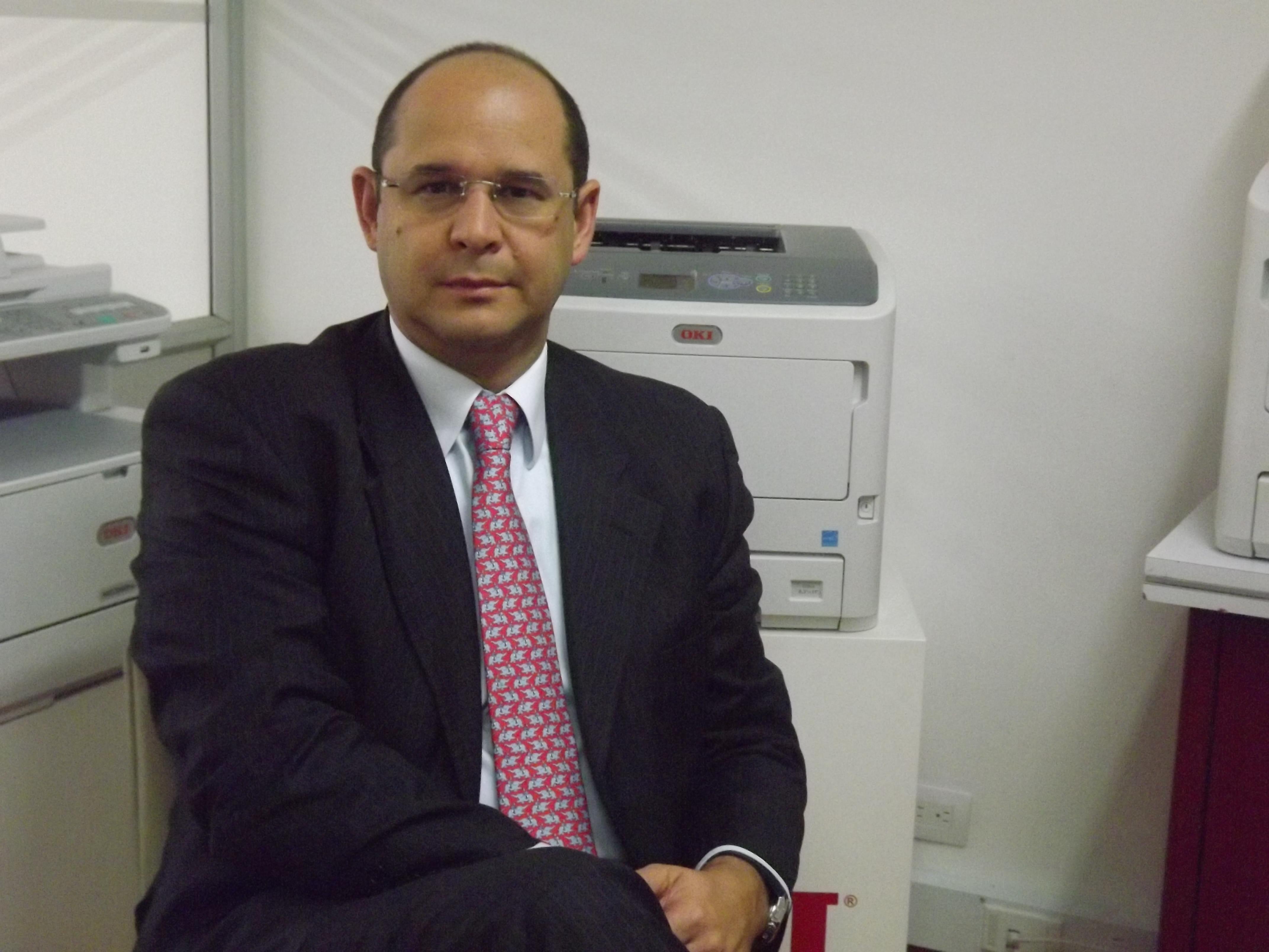 Diego Orrego  será el nuevo gerente de Oki Systems