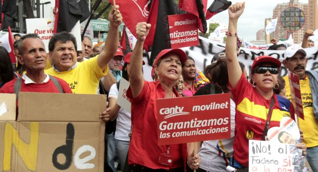 cantv movilnet protestas privatización