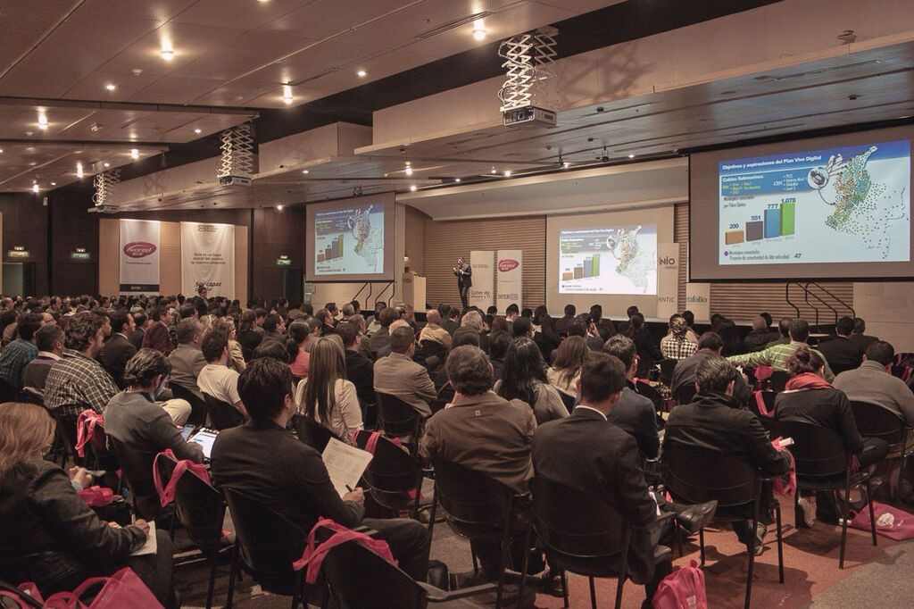 Imagen del encuentro Enter Foros celebrado el pasado año en la ciudad de Bogotá.