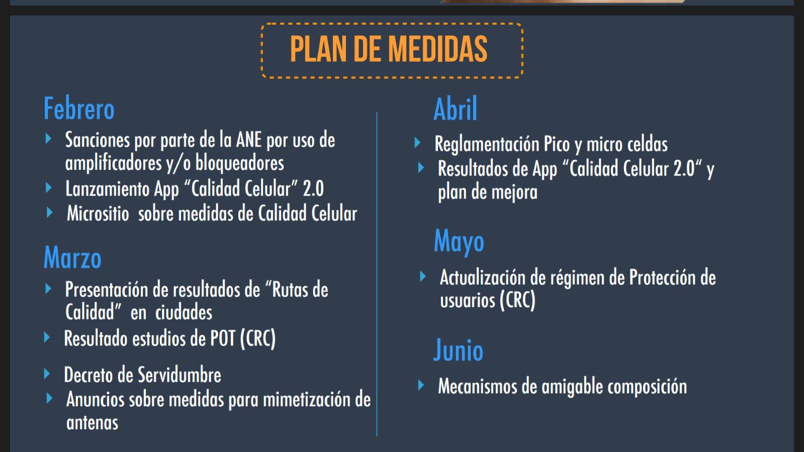 plan medidas calidad celular