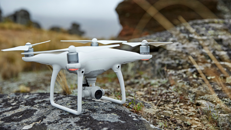 Phantom 4 dron