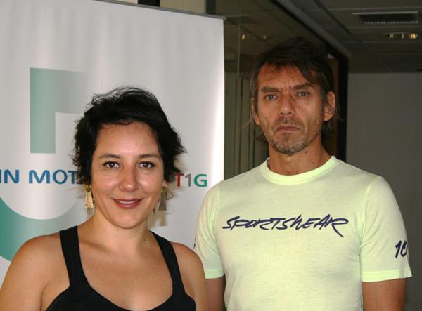 Marcela Carrasco, Jefa Operaciones In Motion-T1G / José Miguel Torres, Líder Soporte Técnico In Motion-T1G