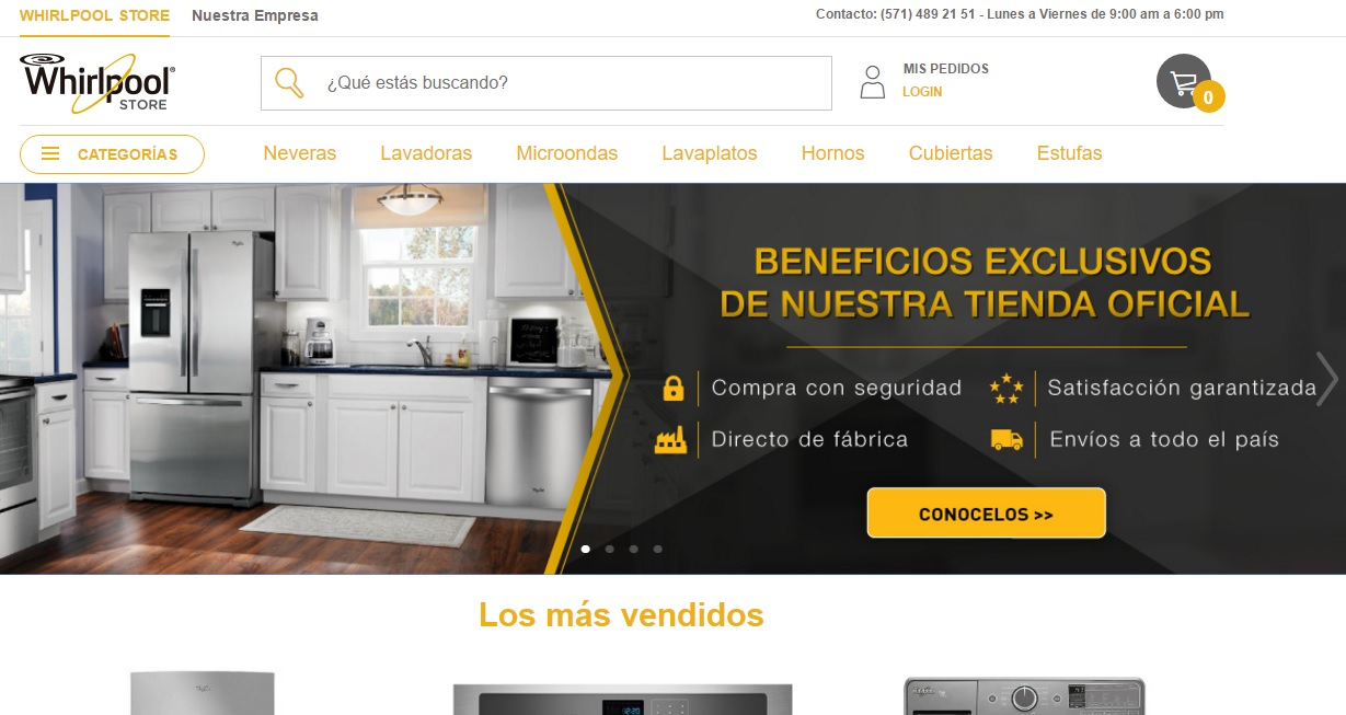 Whirlpool Store Colombia 1