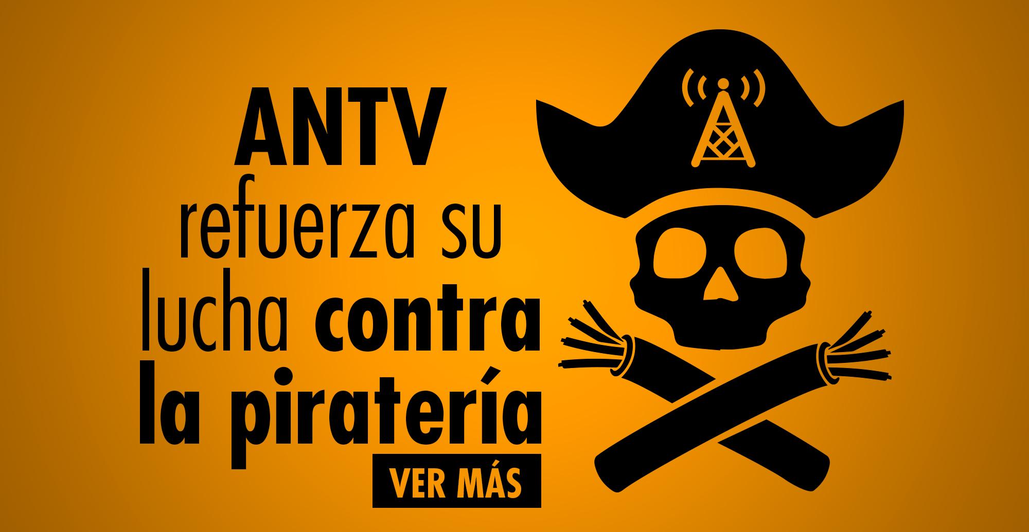 pirateria ANTV