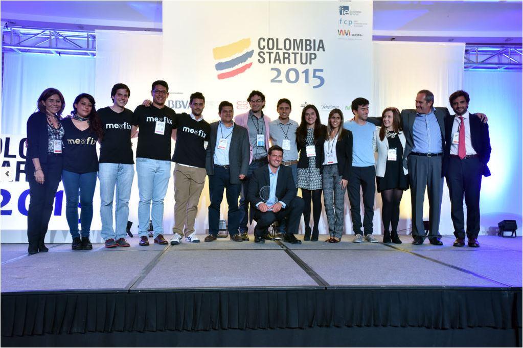 Emprendedores de la edición previa de Colombia Startup