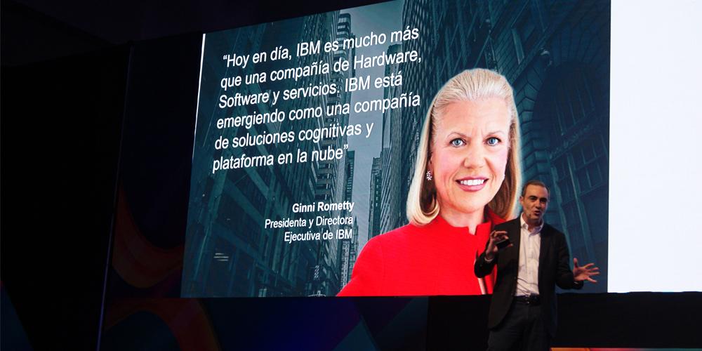 La definición de IBM desde su CEO Global.